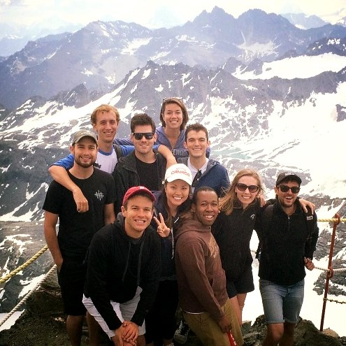 NWS Fellows at Verbier Festival