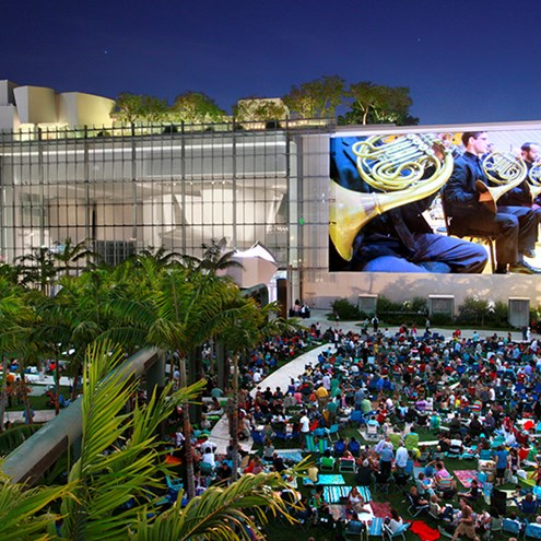 Study of New World Symphony WALLCAST™ Concerts Reveals Diverse Audiences