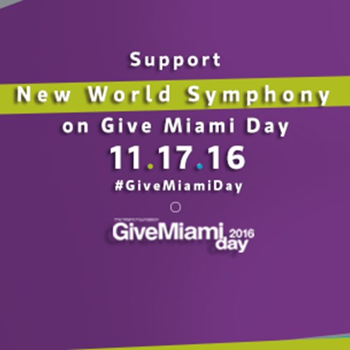 Support the future of classical music on Give Miami Day, Nov. 17