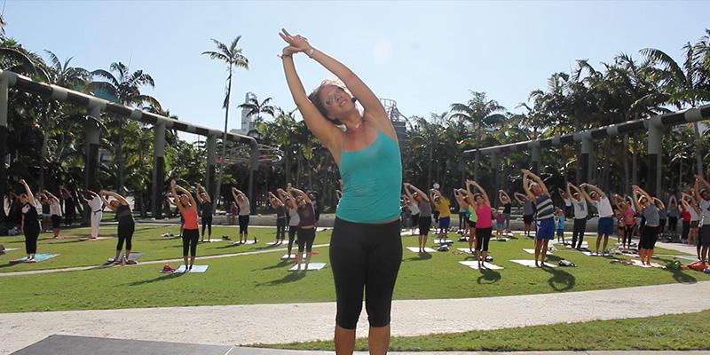 Yoga Mornings At The New World Center New World Symphony