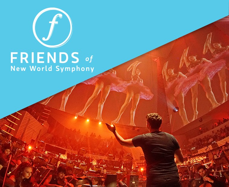 Friends of New World Symphony Info Table | Friends of New World Symphony