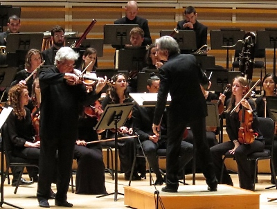 Pinchas Zukerman performs with MTT and NWS October 24, 2015