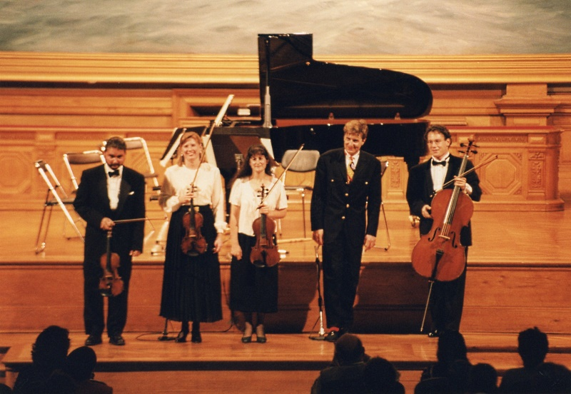 NWS emsemble takes a bow in Monaco June 1995