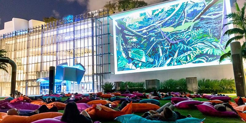 Art Basel Sound And Film Program 2017 Soundscape Park Miami Beach Fl