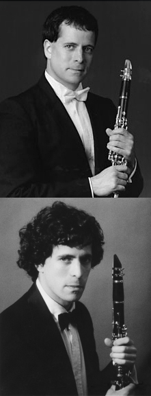 Clarinetist Todd Levy 1988 and now