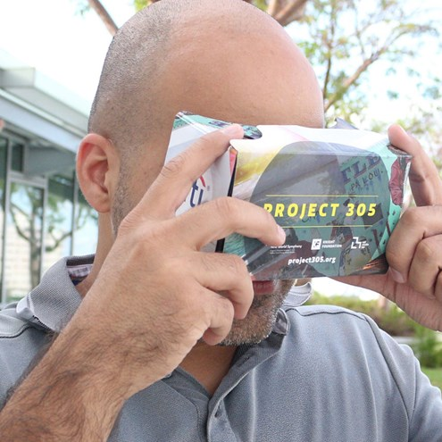 Project 305's Virtual Reality Exhibit brings Miami to you