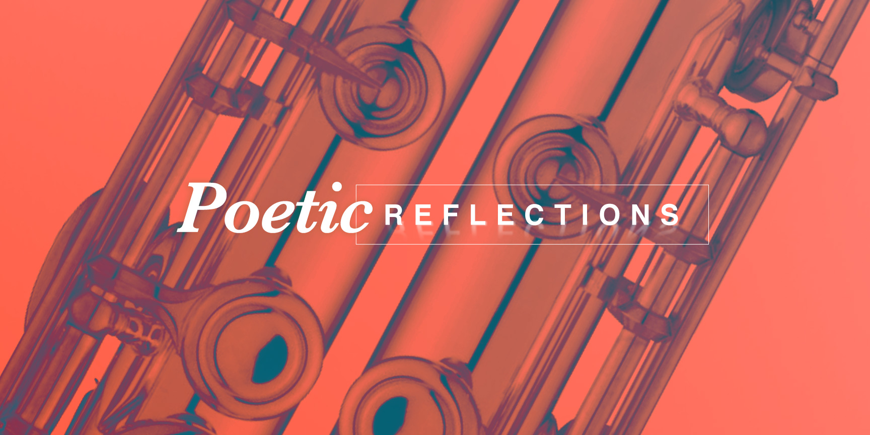 Poetic Reflections concert poster