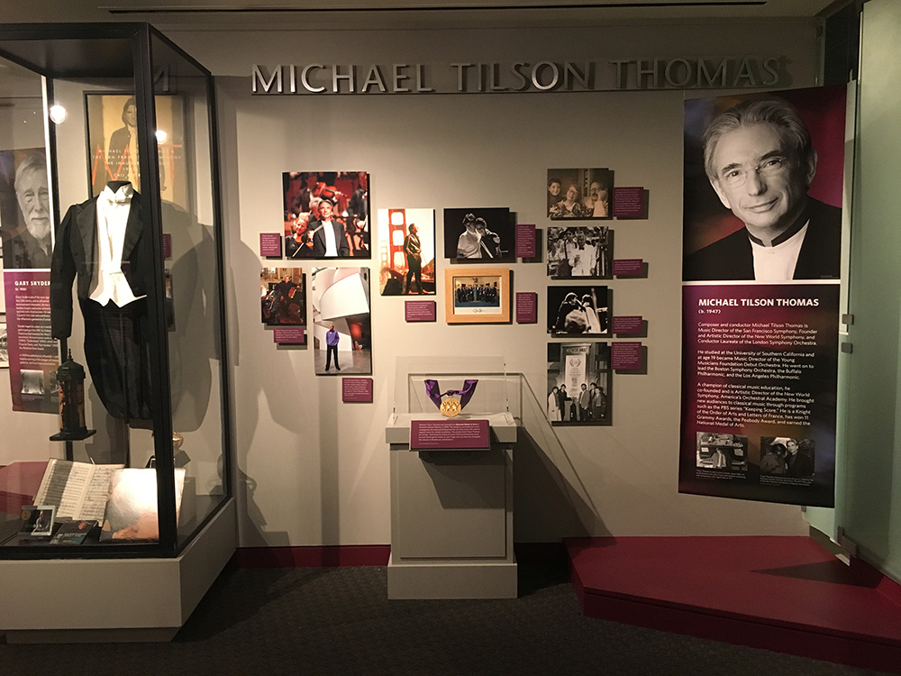 MTT's exhibit in California Museum