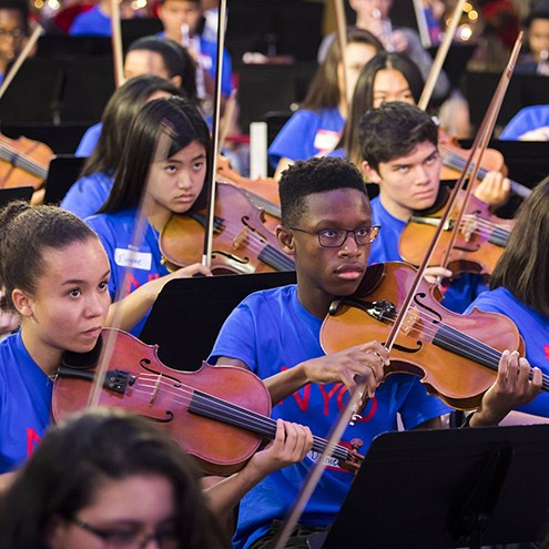 NWS Partners with Carnegie Hall NYO2 Program for Young Musicians