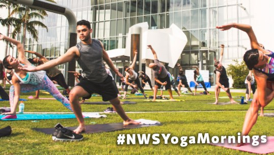 Yoga Mornings at the New World Symphony