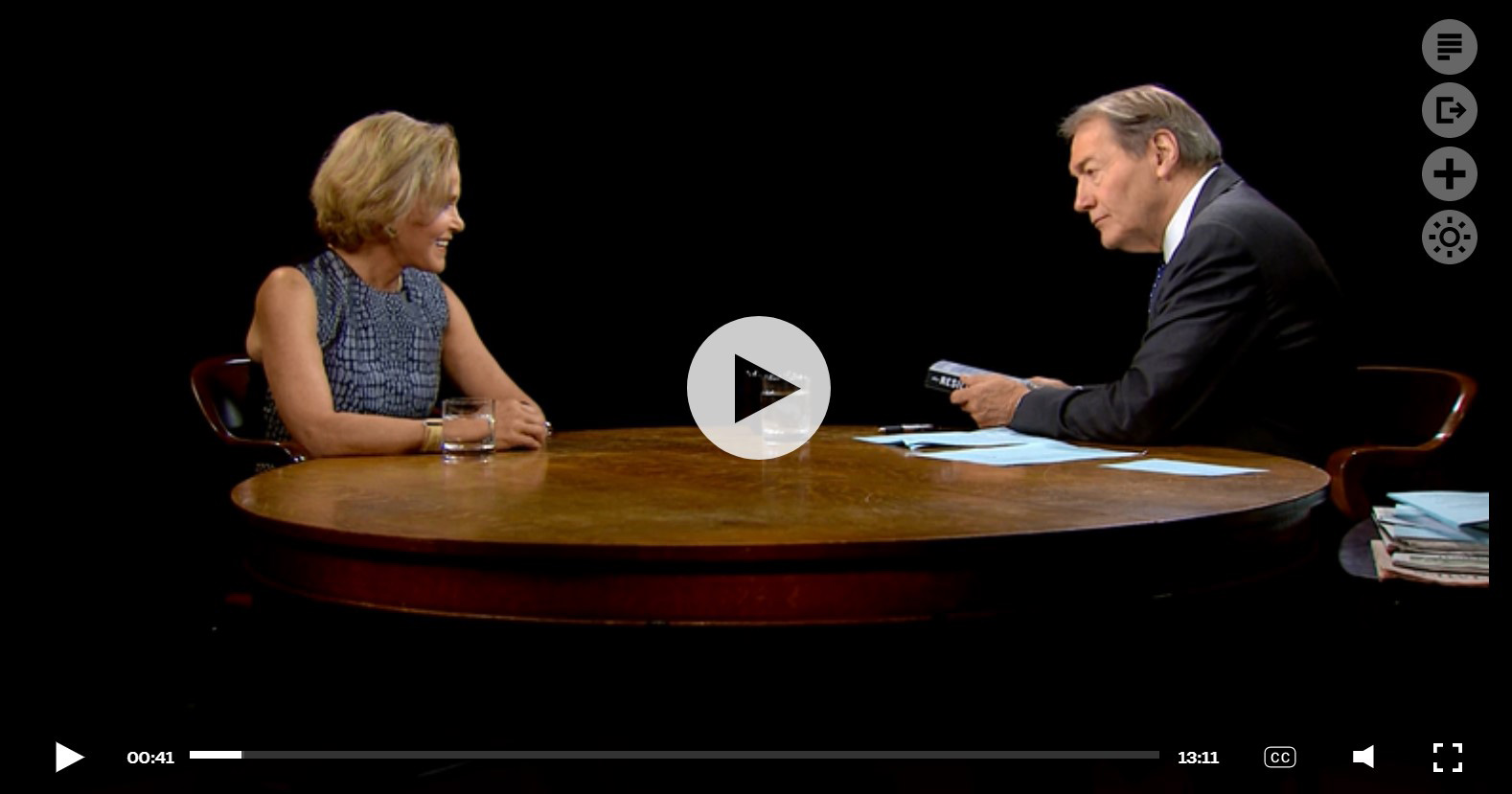 Charlie Rose Show video