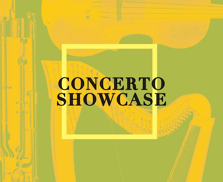 Concerto Showcase March 24 and 25 - Featuring Winners of This Season's Concerto Competition