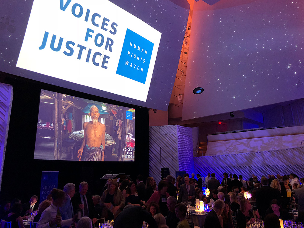 Voices for Justice Gala - Human Rights Watch