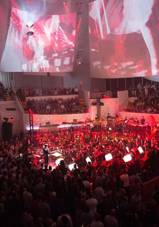 PULSE: WHITE OUT AT NEW WORLD SYMPHONY