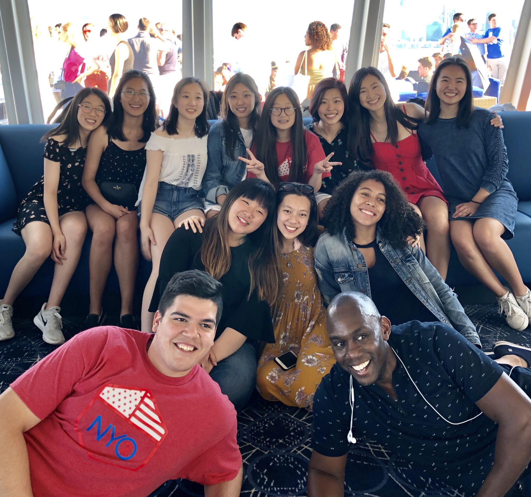 NYO2 on river cruise