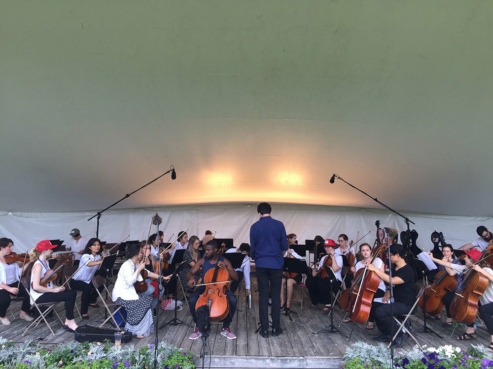 Blake-Anthony Johnson at Vermont Mozart Festival