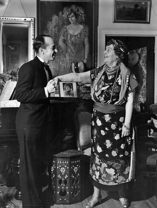 Cosme with Florence Foster Jenkins
