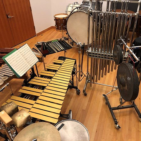 From the Fellows: New Music Week for Percussionists