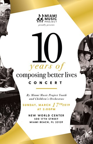 Miami Music Project: 10 Years Of Composing Better Lives Concert