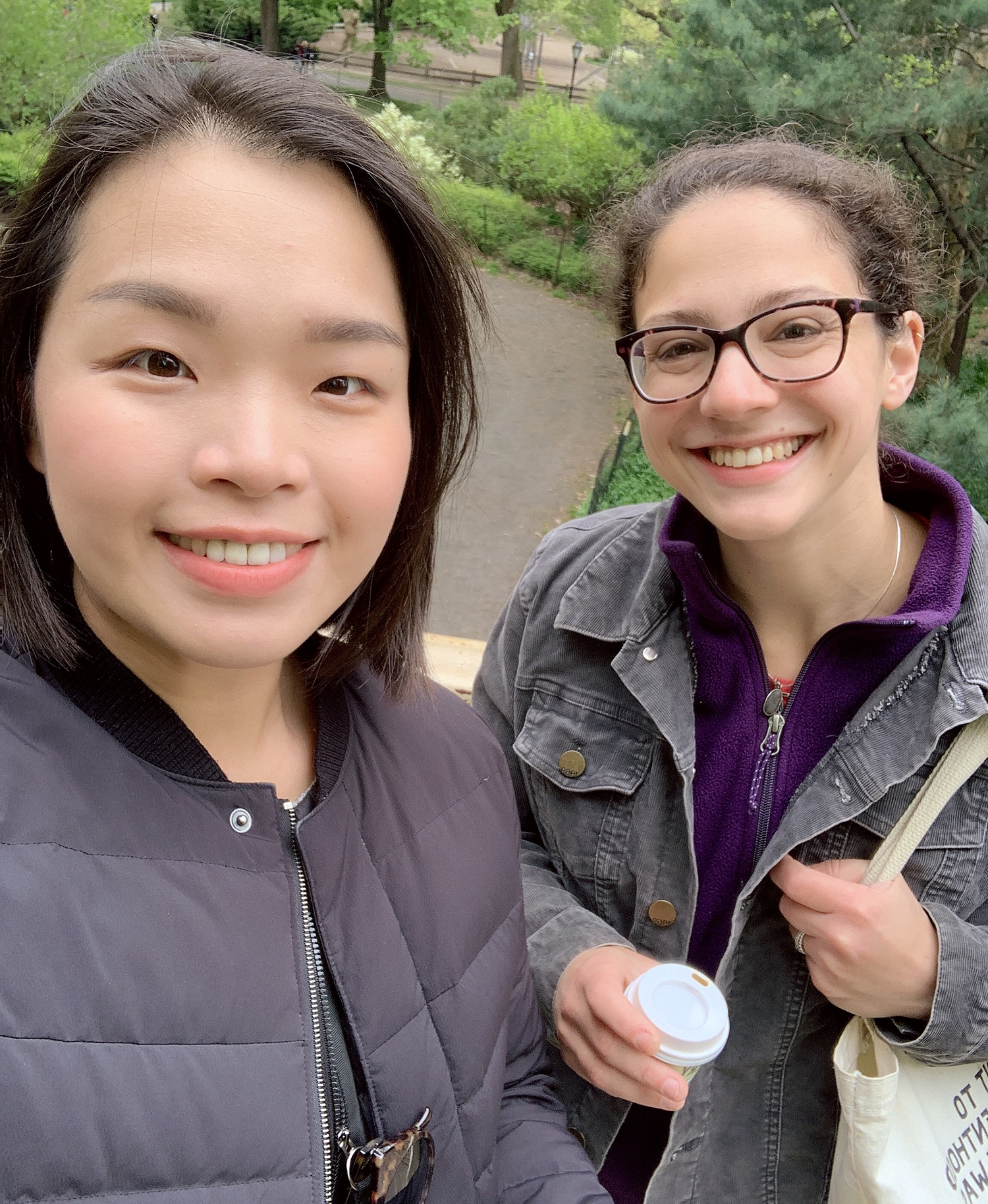 Alexa and Sodam in Central Park