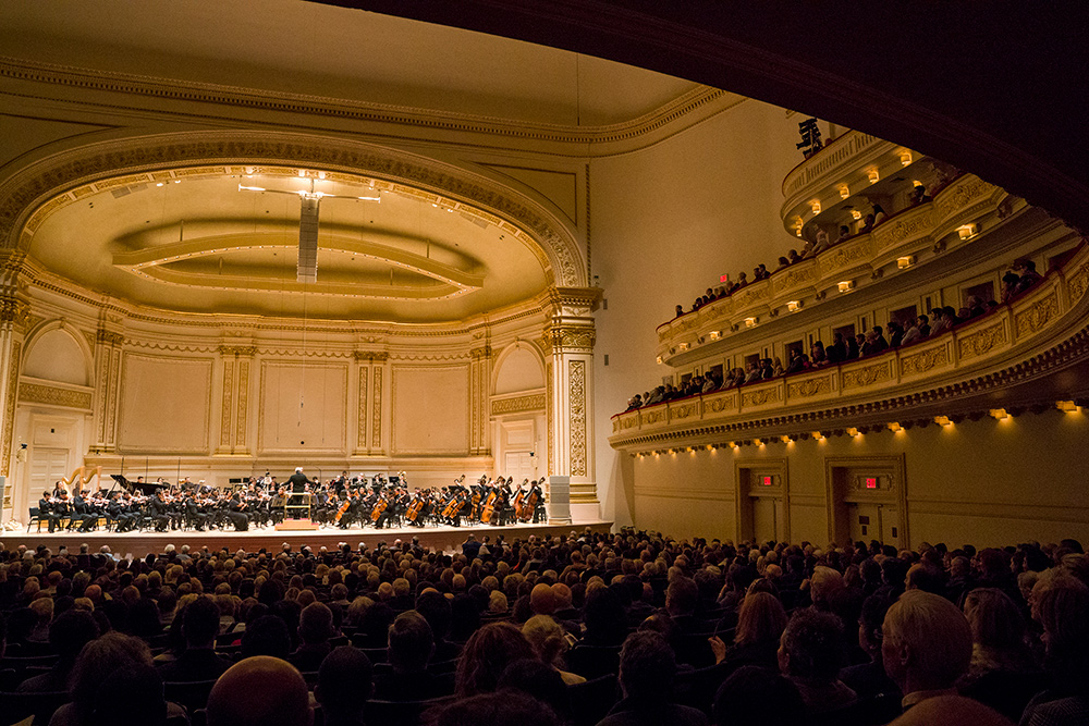 Carnegie Hall Stern Auditorium