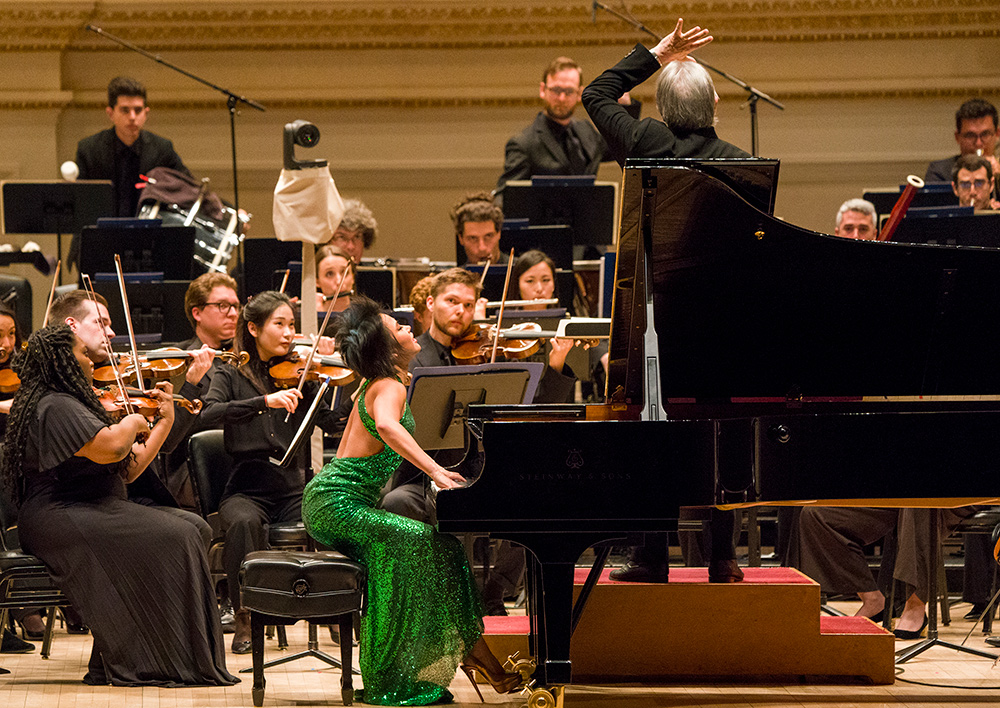NWS with Yuja Wang