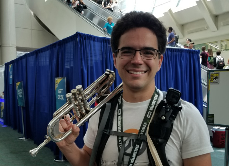 Mark Grisez as SDCC Trumpet Guy