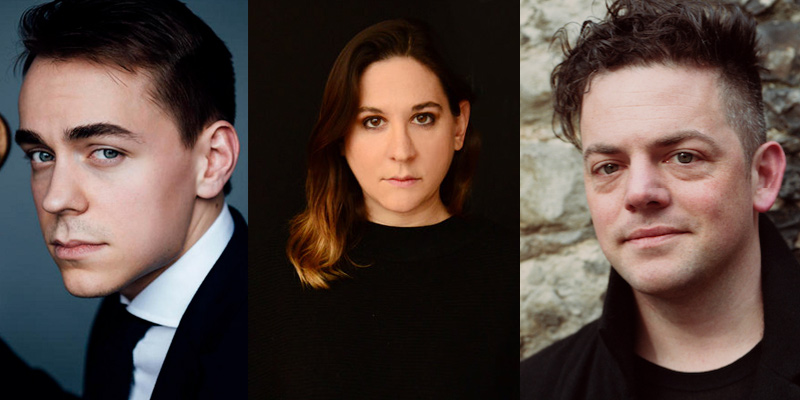 Matthew Lipman, Nadia Sirota and Nico Muhly