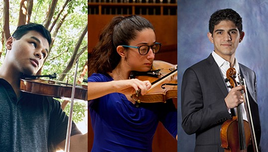 Viola Visions' Young Artist Competition Winners announced