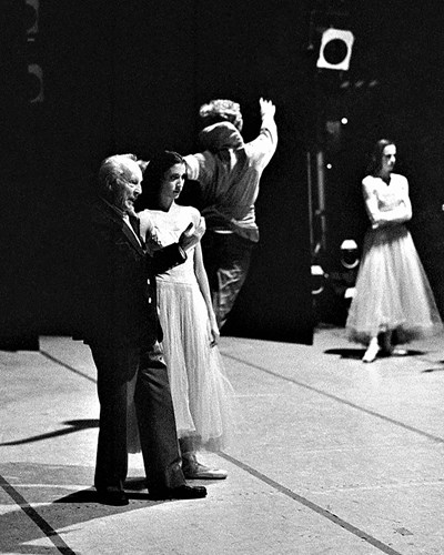 Balanchine and Lourdes
