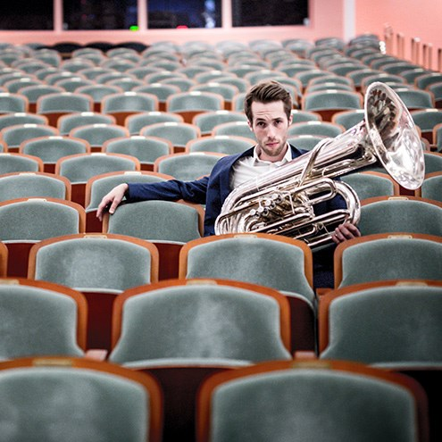 Symphony in Place: Tuba Chats with Canadian Brass