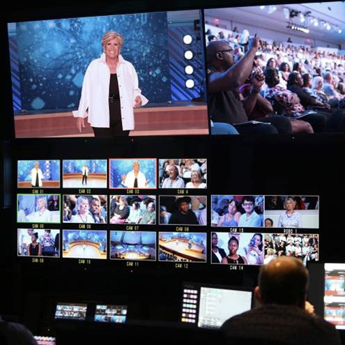 New World Center provides high-tech backdrop for 'Retirement Guide' multi-camera shoot