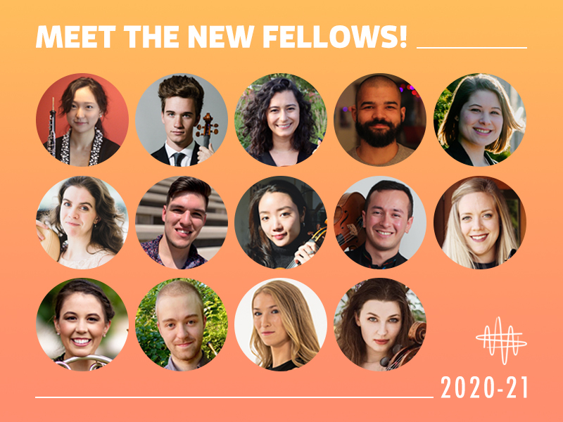 New Fellows for 2020-21 season