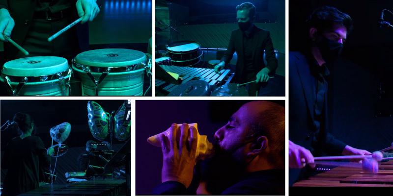 The New World Symphony Serie de percusión virtual