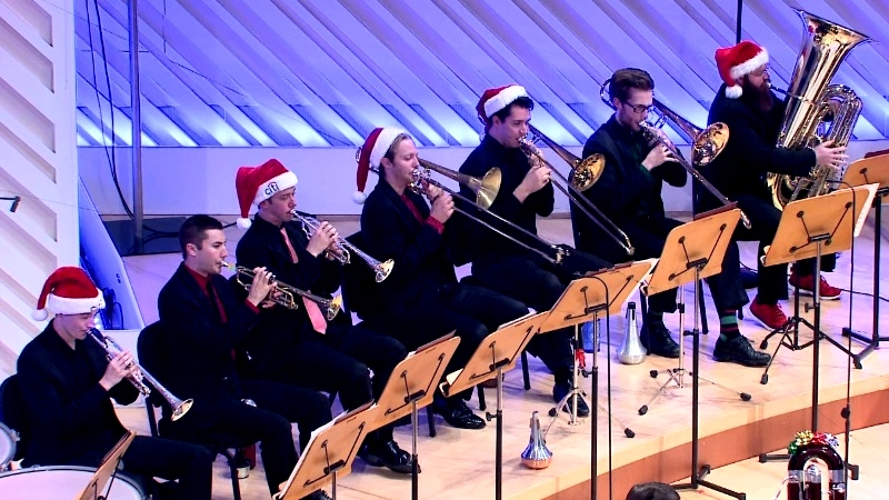 New World Symphony Brass, December 18, 2015
