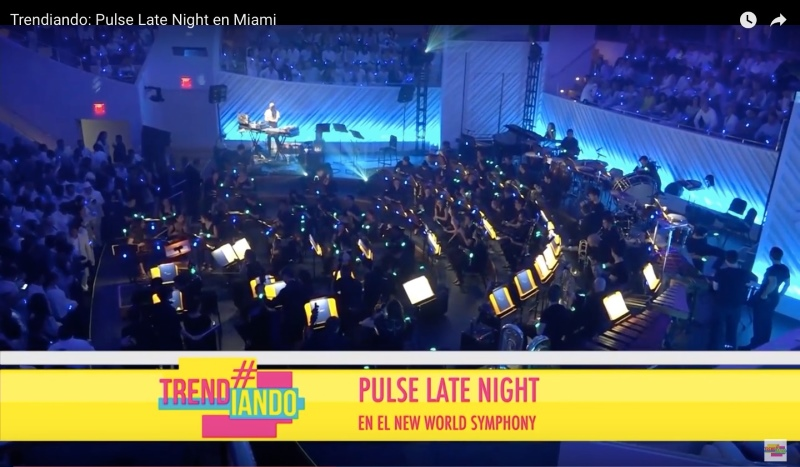 Pulse Late Night en el New World Symphony